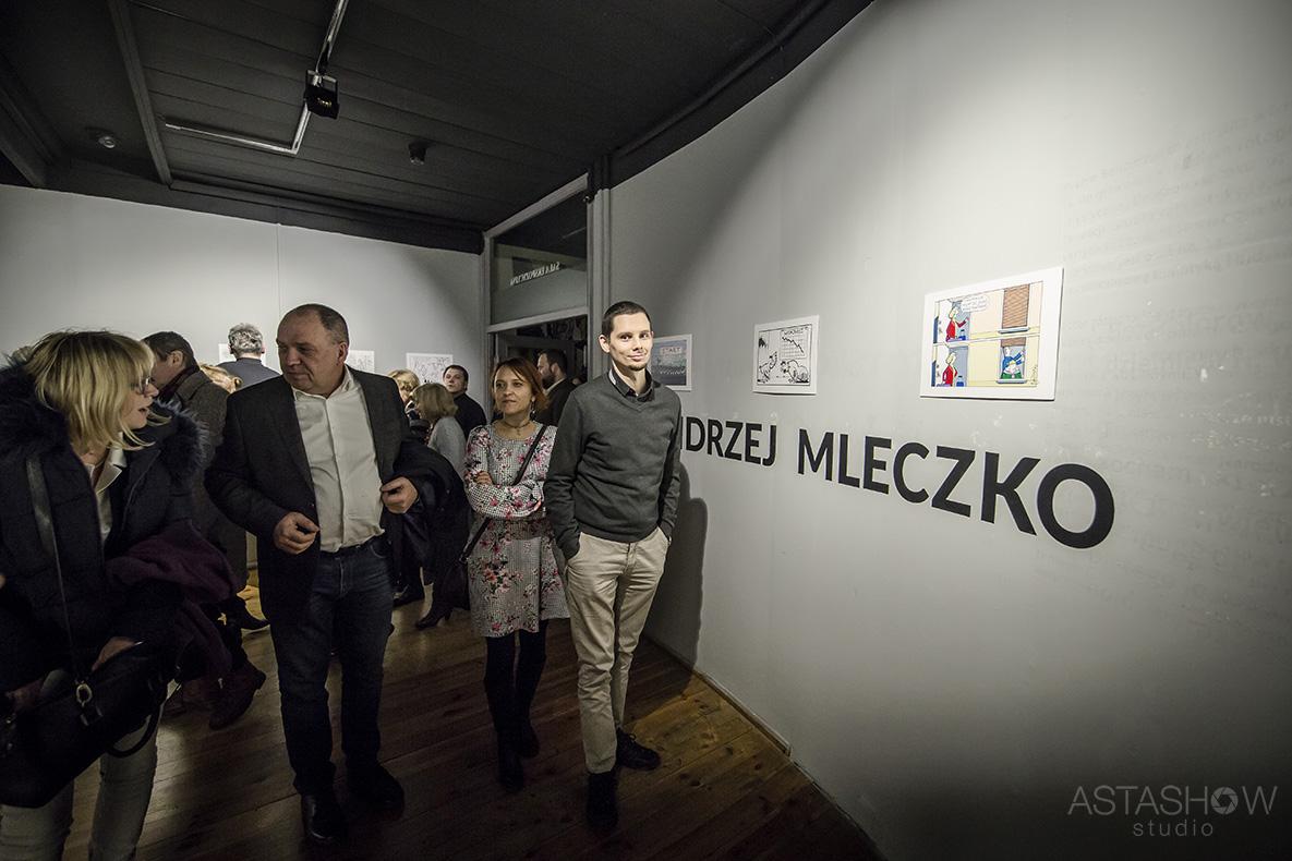 Wernisaz Andrzeja Mleczki Galeria Teatru Korez (1)
