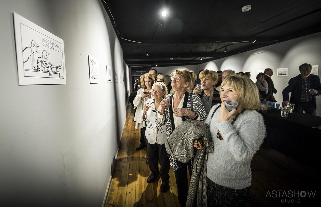 Wernisaz Andrzeja Mleczki Galeria Teatru Korez (2)
