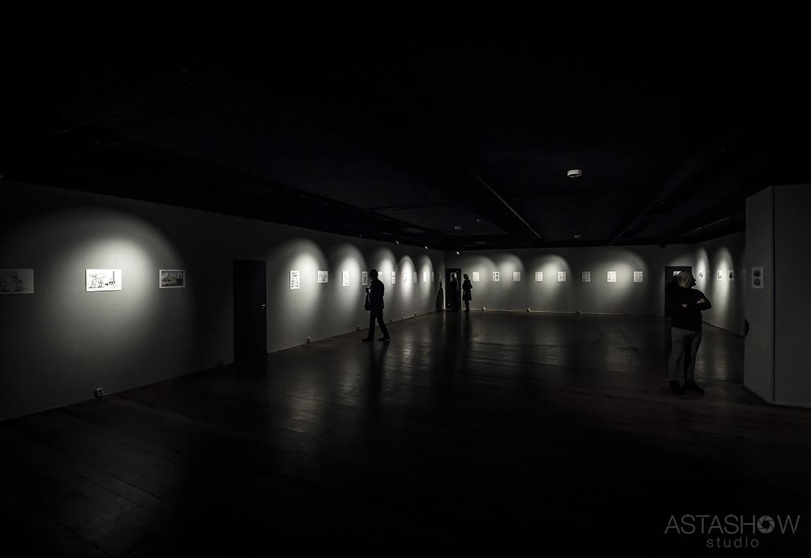 Wernisaz Andrzeja Mleczki Galeria Teatru Korez (22)