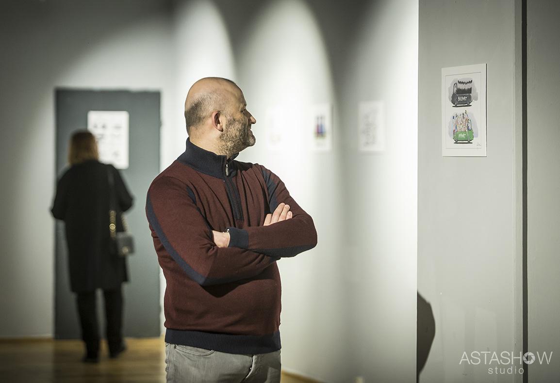 Wernisaz Andrzeja Mleczki Galeria Teatru Korez (24)