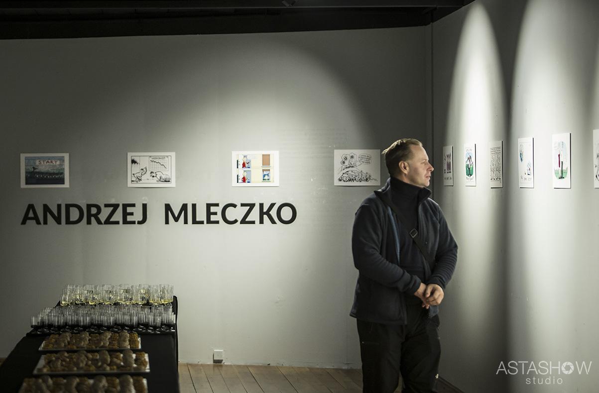 Wernisaz Andrzeja Mleczki Galeria Teatru Korez (7)